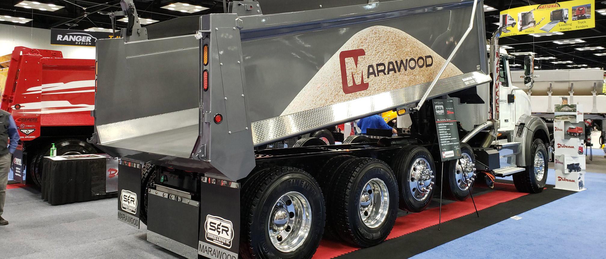 Marawood Dump Truck