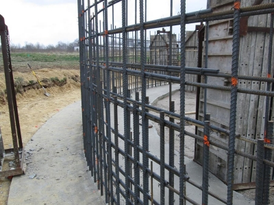 Grain Bin Foundation